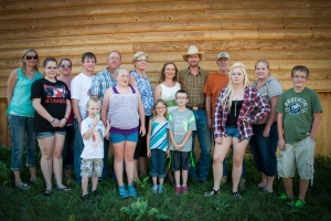 My new in-laws, the Bilden family. Copyright Jill Fineis photography.